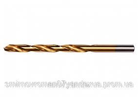 Свердло по металу титанове YATO : HSS-TIN, Ø= 10.0 мм, l= 133/87 мм