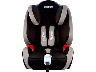 Детское автомобильное кресло Sparco F1000K 9-36kg, (серый)