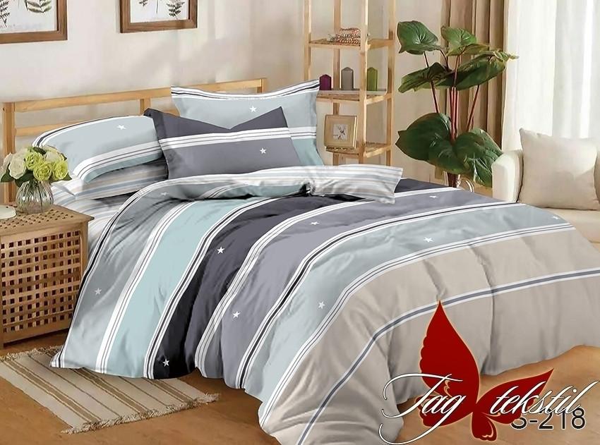Евро комплект постельного белья с компаньоном S218