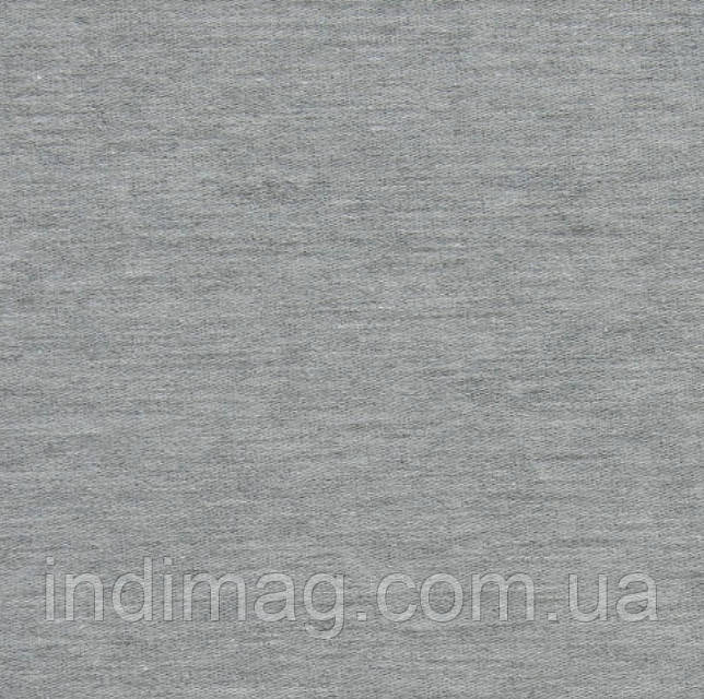 Трикотаж однотонный с начёсом Меланж