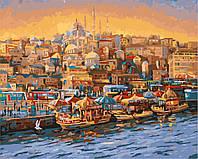 "Картина по номерам ""Приморский город"" Rainbow Art"