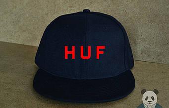 Снепбек Huf черного цвета (люкс копия)