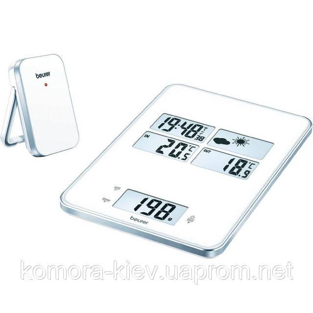 Весы кухонные Beurer KS 80 с метеостанцией
