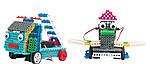 Конструктор на и/к LongYeah R722 4-в-1. паровозик, машинка, лыжник, робот, фото 2