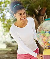Женские футболки с длинным рукавом Fruit of the Loom 61-404-0