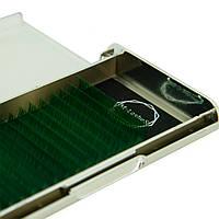 Цветные ресницы M-Lashes микс зеленый