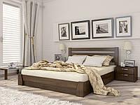 Кровать полуторная Селена деревянная из бука