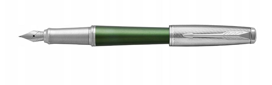 Ручка перьевая Parker Urban Premium Green CT, фото 2