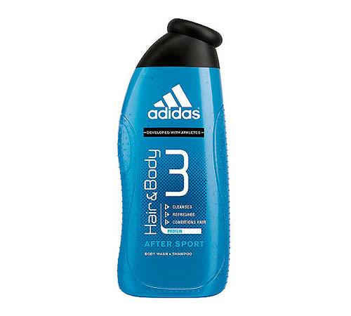 Adidas Hair&Body гель для душа и шампунь 250 ml