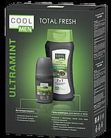 Косметический набор Cool Men Total Fresh Ultra Mint