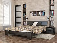 Кровать двуспальная Титан деревянная из бука