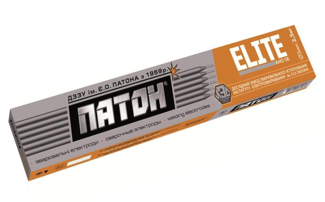 Електроди ELITE АНО-36 диаметр 2мм, вес 1кг