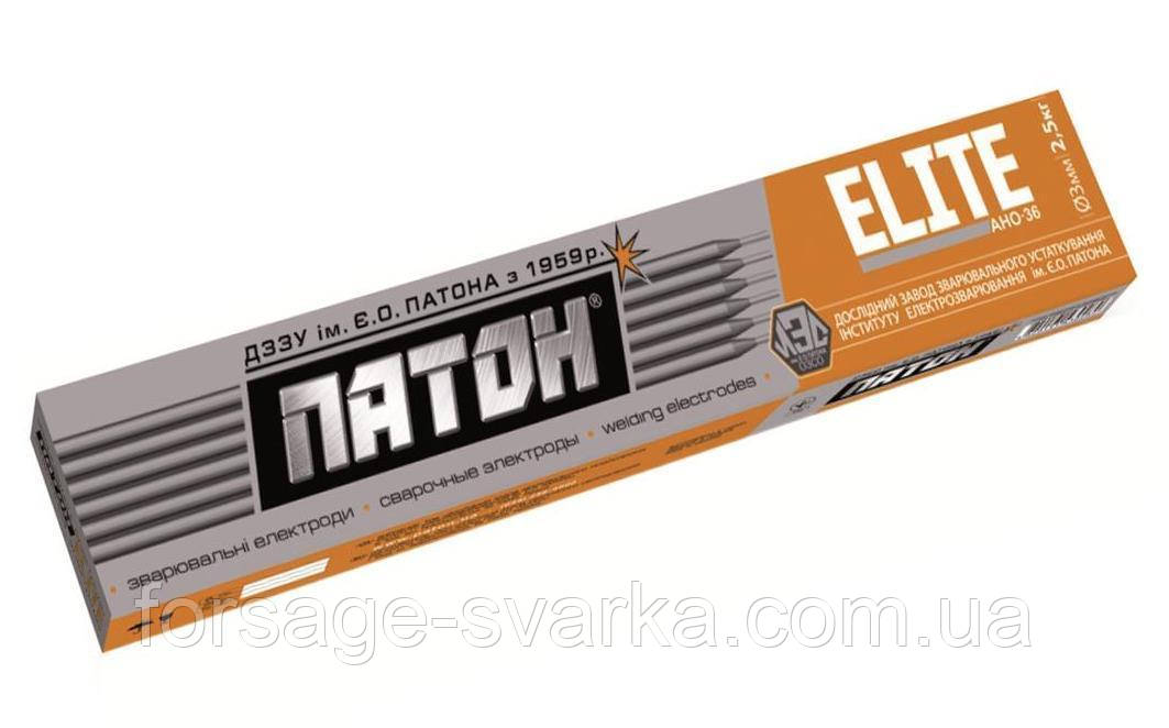 Електроди ELITE АНО-36 диаметр 3мм, вес 1кг