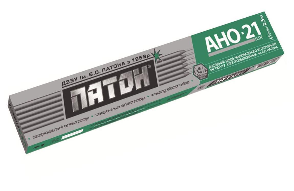 Електроди ELITE АНО-21 діаметр 4 мм, вага 2,5кг