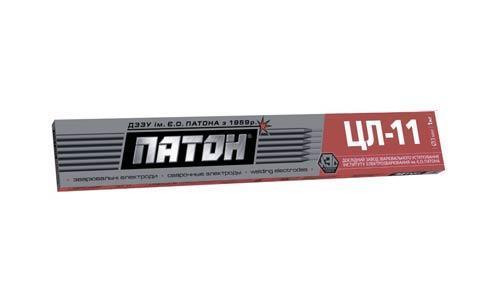 Електроди ПАТОН ЦЛ-11 диаметр 4мм, вес 1кг