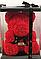 Мишка из роз с бантом, в подарочной коробке (большой 40 см) красный, фото 3