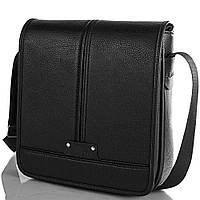 Сумка-почтальонка (мессенджер) Bonis Мужская сумка-почтальонка из качественного кожезаменителя BONIS (БОНИС) SHIM8098-black