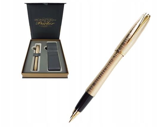 Перьевая ручка Parker URBAN PREMIUM PEARL ETUI, фото 2
