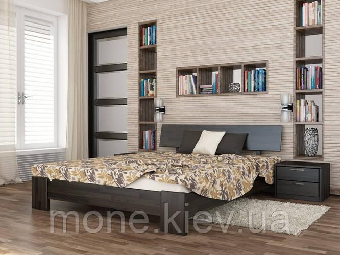 Кровать полуторная Титан деревянная из бука , фото 2