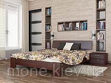 Кровать полуторная Титан деревянная из бука , фото 3