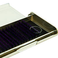 Ресницы омбре фиолетовые M-Lashes микс