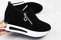 Снікерси кросівки чорні