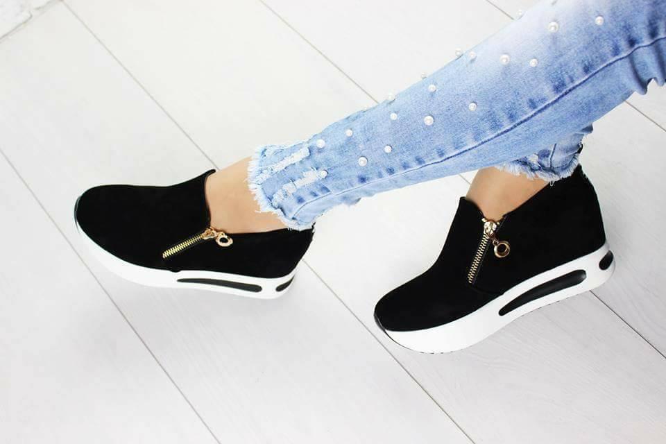 Снікерси кросівки чорні  25545c5600cb3