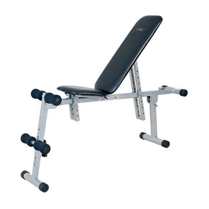 Упражнения с гантелями на скамье на все группы мышц