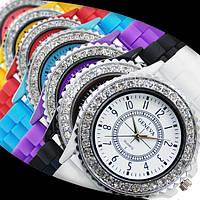 Женские наручные силиконовые часы GENEVA, фото 1