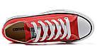 Мужские кеды Converse Chuck Taylor All Star (конверсы) красные, фото 5