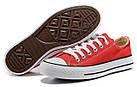 Мужские кеды Converse Chuck Taylor All Star (конверсы) красные, фото 2