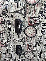 """Мебельная ткань гобелен-шенилл """"Париж"""" перетяжка мягкой мебели стульев ширина 150 см сублимация 2034"""