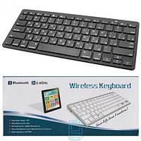 Клавиатура BlueTooth BK3001 для планшета черная