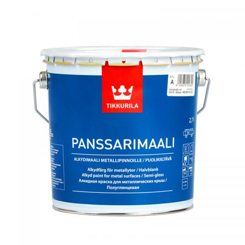 Фарба для металевих дахів Tikkurila Panssarimaali Панссарімаалі  2,7л(А)