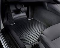 Комплект оригинальных ковриков салона для BMW 7 (F02) (51472409275 / 51472409277)