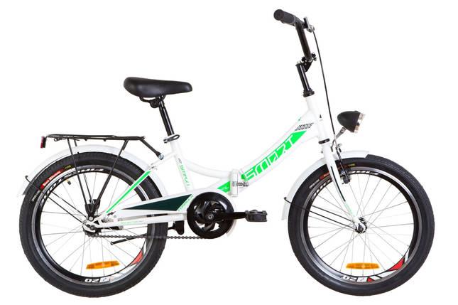 """Складной велосипед 20"""" Formula SMART с фонарём 2019 (розовый), фото 2"""