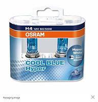 Лампы накаливания Osram H4 62193 CBH Cool Blue Boost 100/90W