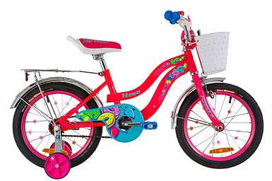 """Детский велосипед 16"""" Formula FLOWER 2020(розовый)"""