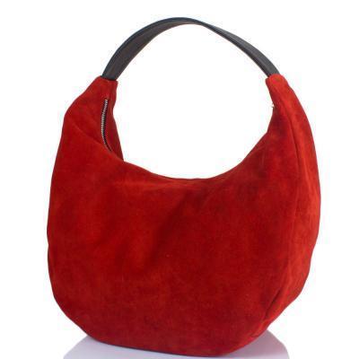 4e255b16f2c5 Сумка-баул (хобо) Gala Gurianoff Женская дизайнерская замшевая сумка GALA  GURIANOFF (ГАЛА