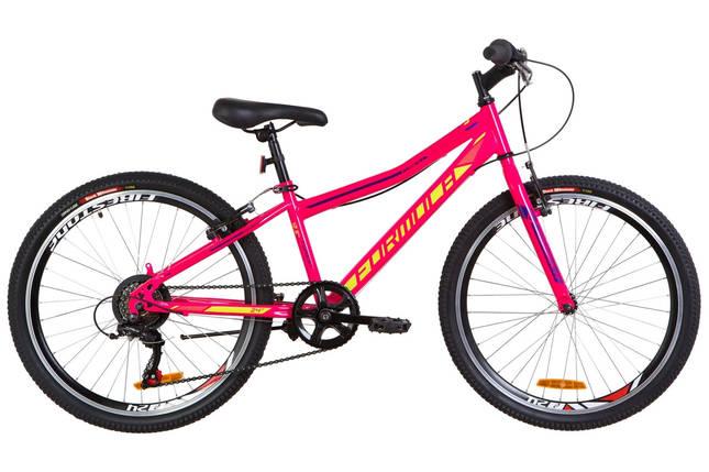 """Горный велосипед 24"""" Formula FOREST RIGID 2019 (черно-красный с желтым), фото 2"""