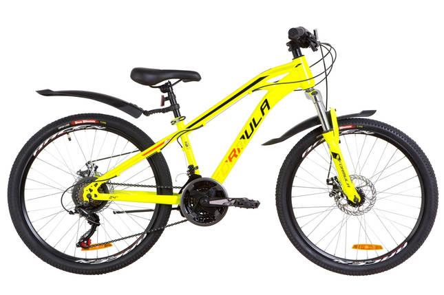 """Горный велосипед 24"""" Formula DAKAR DD 2019 (салатно-синий), фото 2"""