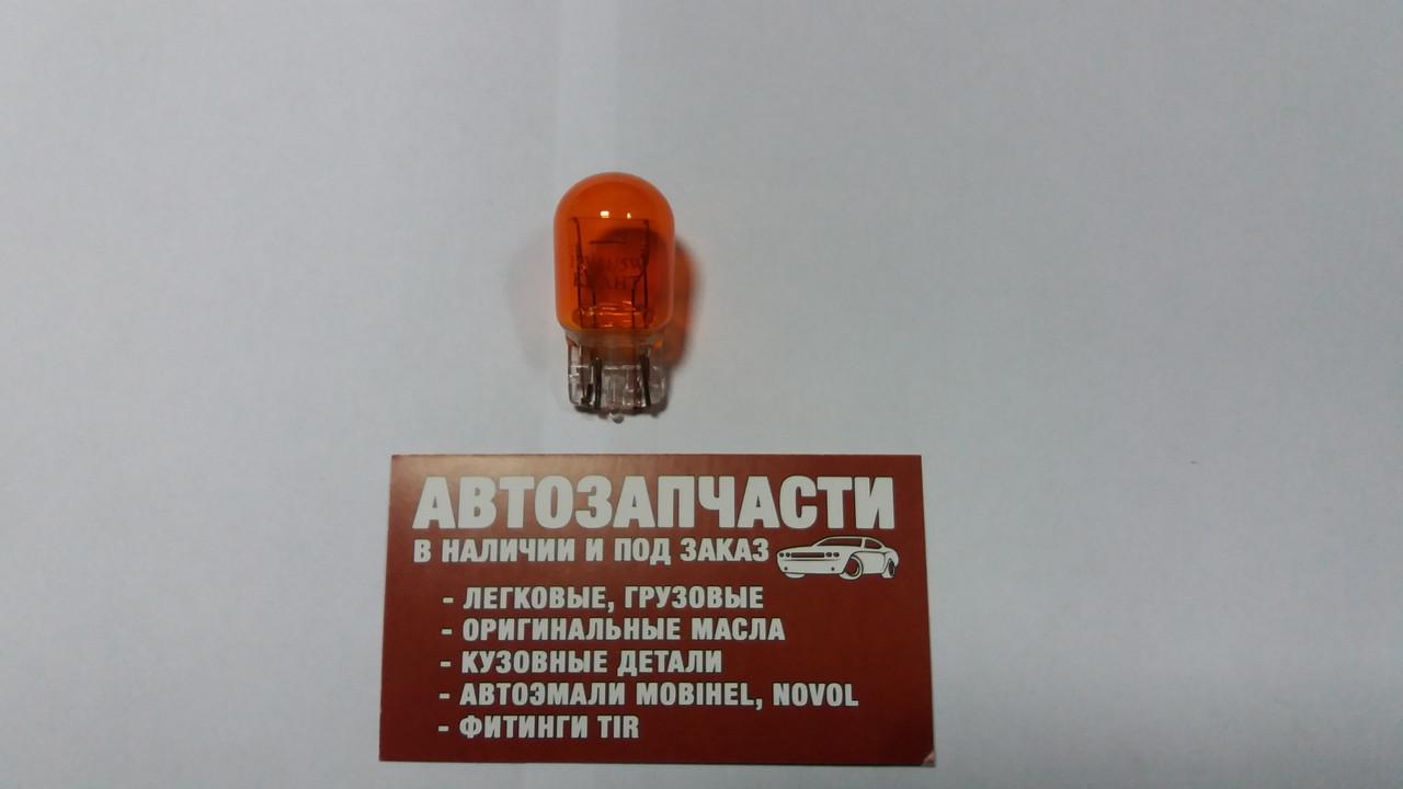 Лампа без цок. 2 контакта 24V 21-5W Квант