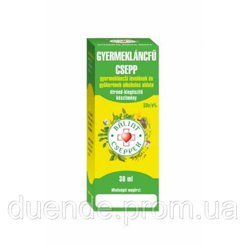 Травяная настойка Одуванчик лекарственный - 50 мл  BIONET Венгрия