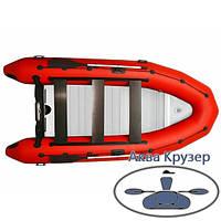 """Надувна кільової моторний човен пвх """"Рятувальник"""" Omega 385 K ALF LUX, фото 1"""