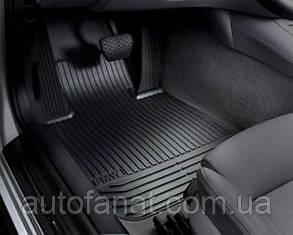 Комплект оригинальных ковриков салона для BMW 7 (F01) (51472409275 / 51472409276)