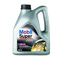 Моторное масло для двигателя Mobil(Мобил) Super 2000 10W40 4литра
