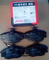 Тормозные колодки передние Remsa 141.02 Dacia Logan 2004- Renault 19, 20, 21, 25 86- Clio Sandero Megane