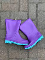 Сапоги силиконовые фиолетовые Реалпак, фото 1