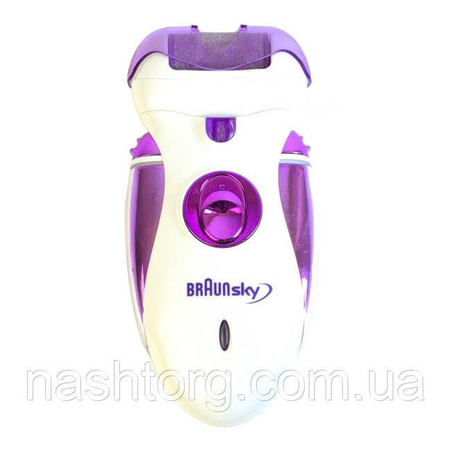 🔝 Женский эпилятор, BraunSky BS-2020 4 в 1, машинка для эпиляции | 🎁%🚚