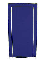 🔝 Тканевый шкаф, для одежды, HCX Storage Wardrobe 8890, шкаф чехол на молнии, цвет - синий | 🎁%🚚, фото 1